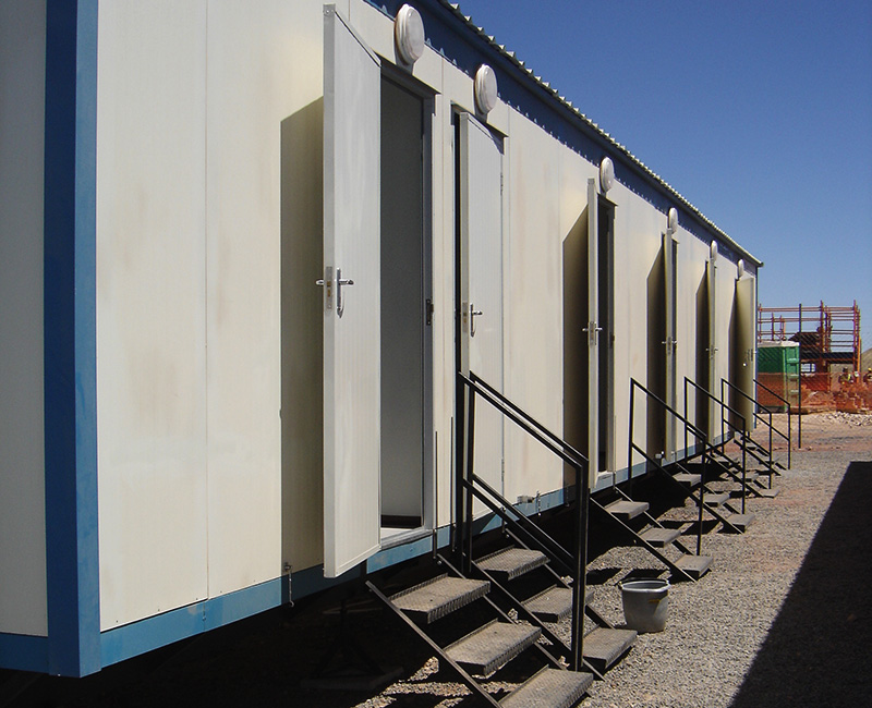 Speedsleep Prefab Mobile Dormitory Units, Mobile Dormitory Units, Prefabricated Sleeping Accommodation